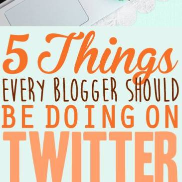 5 Things Every Blogger Should be Doing on Twitter. Twitter is one of the easiest social media's to grow a following on. Make it count with these 5 actionable steps. Click here to take your Twitter conversions and engagement to the next level!